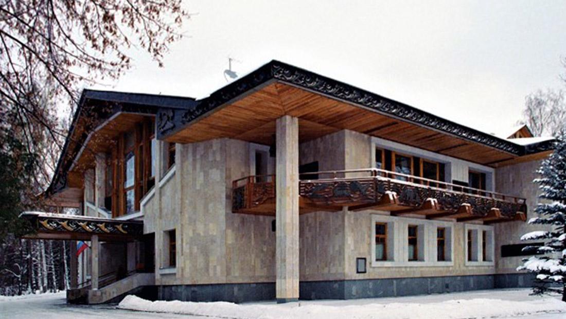 «Б-4», бывшая резиденция президента РФ в Барвихе